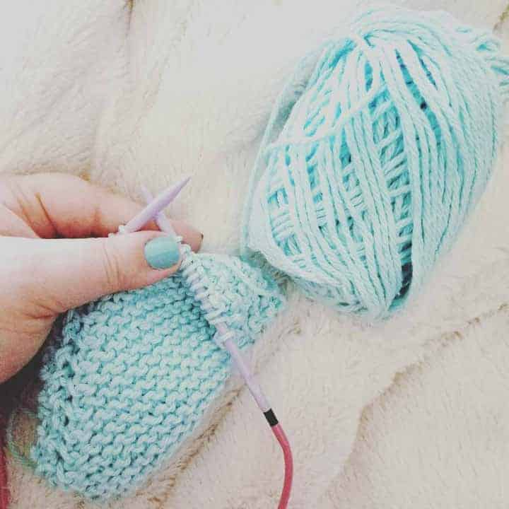 @WingandKey working with her Denise Interchangeable Knitting Needles. Follow for more great pics