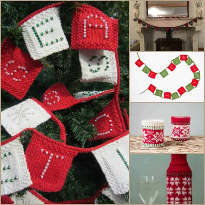 Ultimate Festive Bunting; Festive Bunting; Festive Bunting V2; Festive Wine Bottle Cosy; Festive Candle Cosy. Start at 10am GMT on 24th November - 10pm GMT on 27th November https://debbieabrahams.com/collections/knitting-kits Code Required: FESTIVE10 10% discount on 5 Festive Debbie Abrahams Handknitting kits: