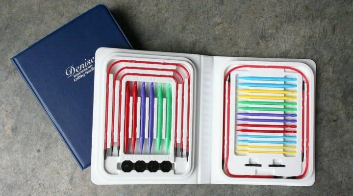 Photo of Denise Interchangeable Knitting Needles from Manufacturer's Website