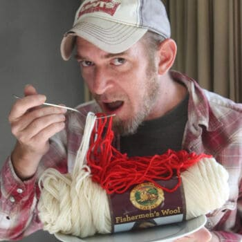 Gregory Patrick from Mad Man Knitting