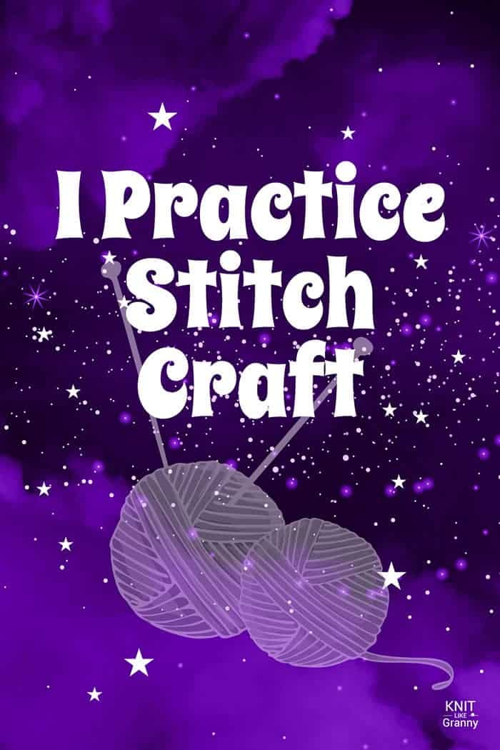 I practice stitch craft!