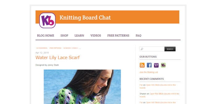 Knitting Board Blog