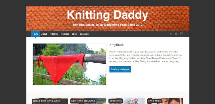 Knitting Daddy