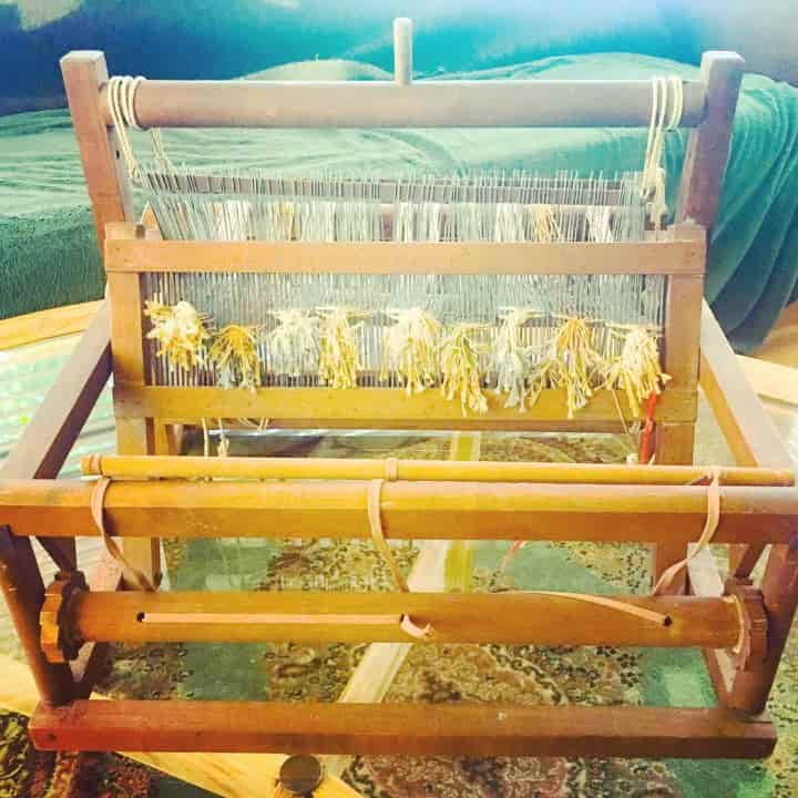 Loom Knitting @ThePreservationSociety