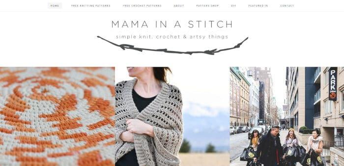 Mama in a Stitch