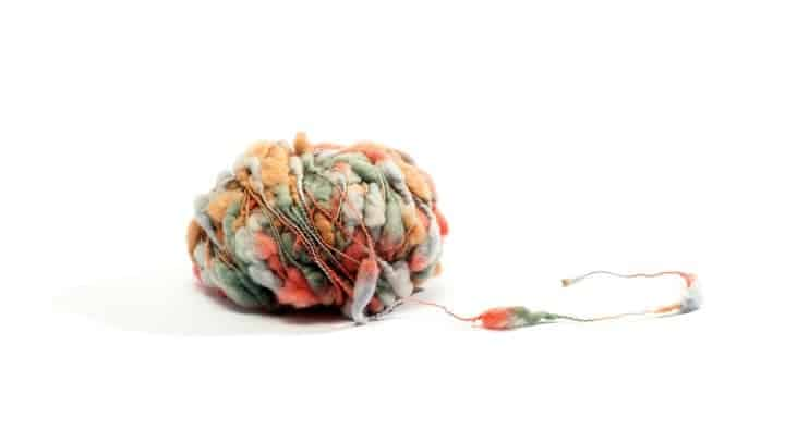Specialty Yarn with multiple colors and textures. Speciality Yarn adds interest to knitted items.