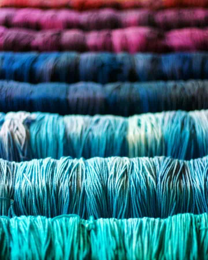 Tanis Fiber Arts Hand dyed yarns