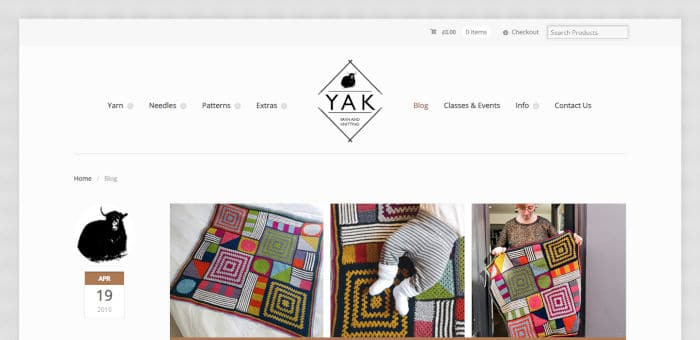 YAK - A Yarn Shop for Wool and Knitting Supplies UK