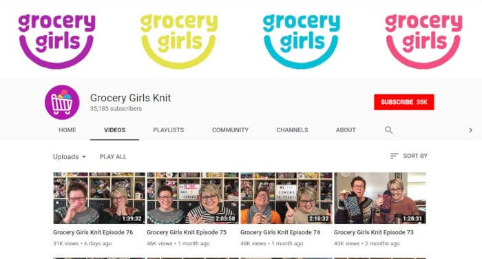 Grocery Girls Knit
