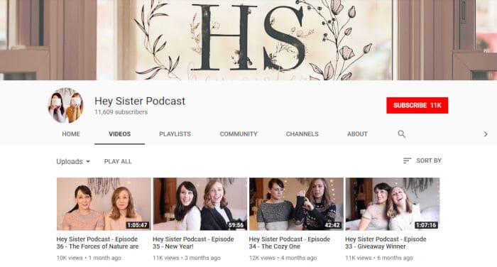 Hey Sister Podcast
