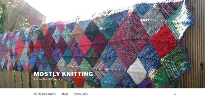 Mostly Knitting