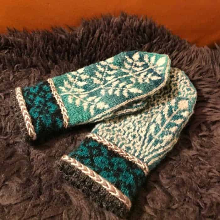 Mittens by Marianne Skatten Norwegian Knitting