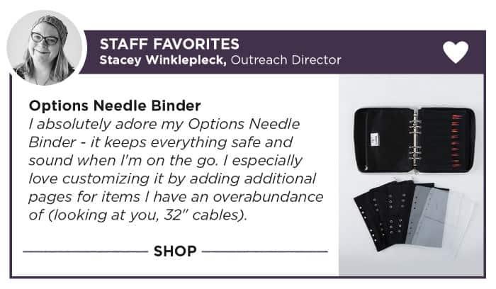 Knit Picks Option Needle Binder