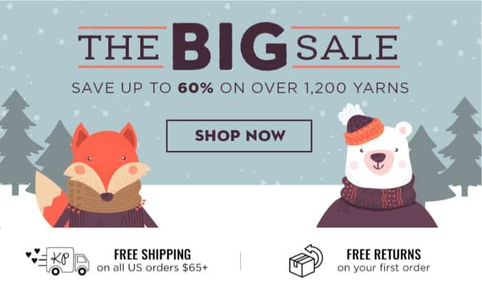 Knit Picks Big Sale