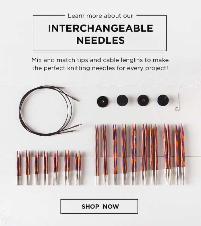 Interchangeable Needles at Knit Picks