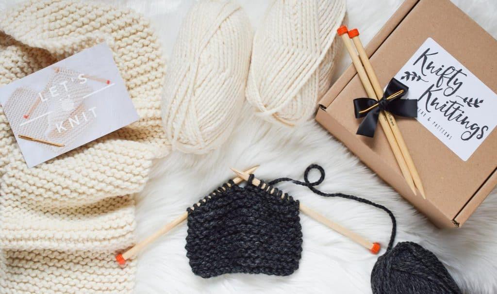 Knifty Knittings Beginners Scarf Kit