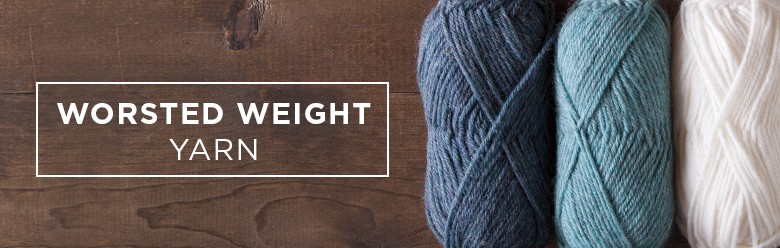 worsted weight yarns from Knit Picks