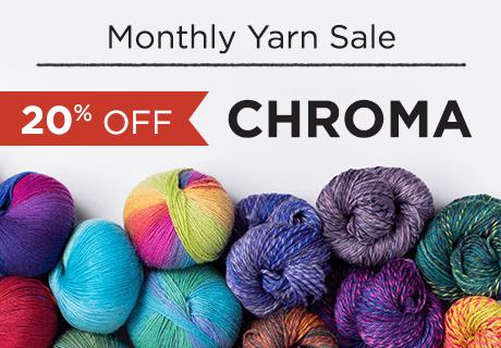 Knit Picks February Chroma Yarn Sale