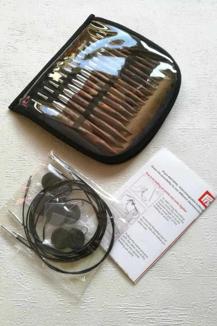 Prym Circular interchangeable Needles set Natural