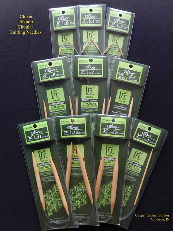 Clover Takumi Circular Knitting Needles