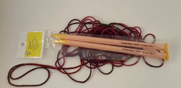 Crystal Palace Daisy Plastic Knitting Needles