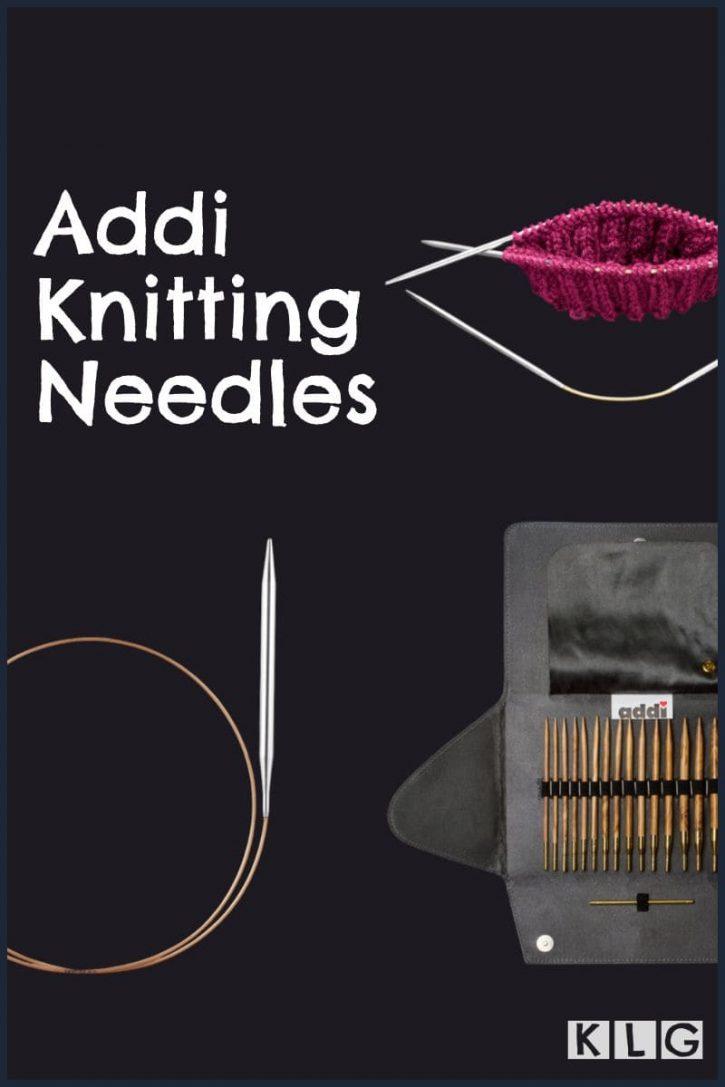 Addi Knitting Needles Pin
