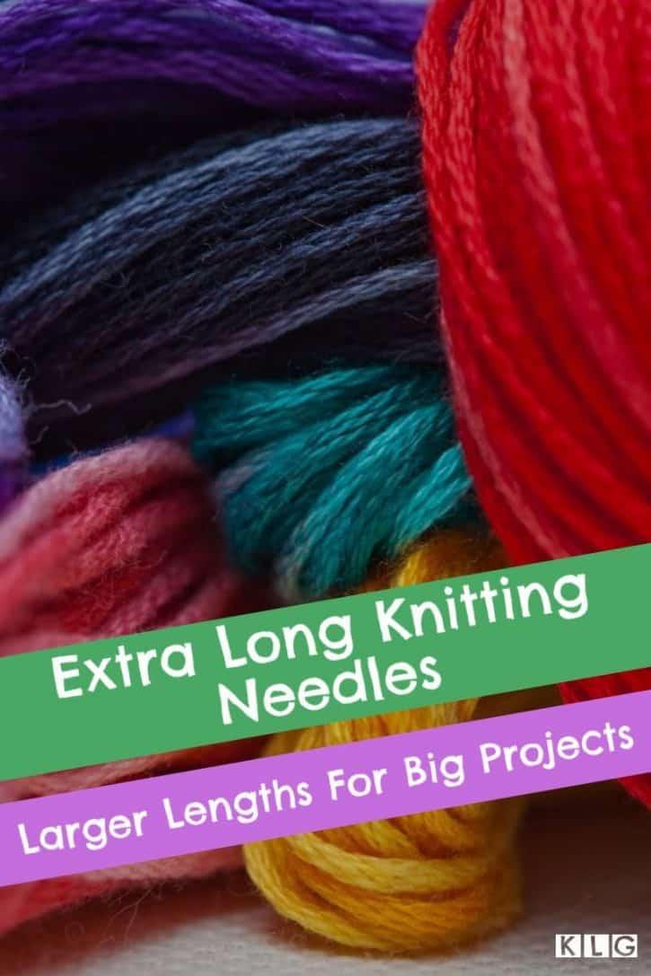 Extra Long Needles Pin