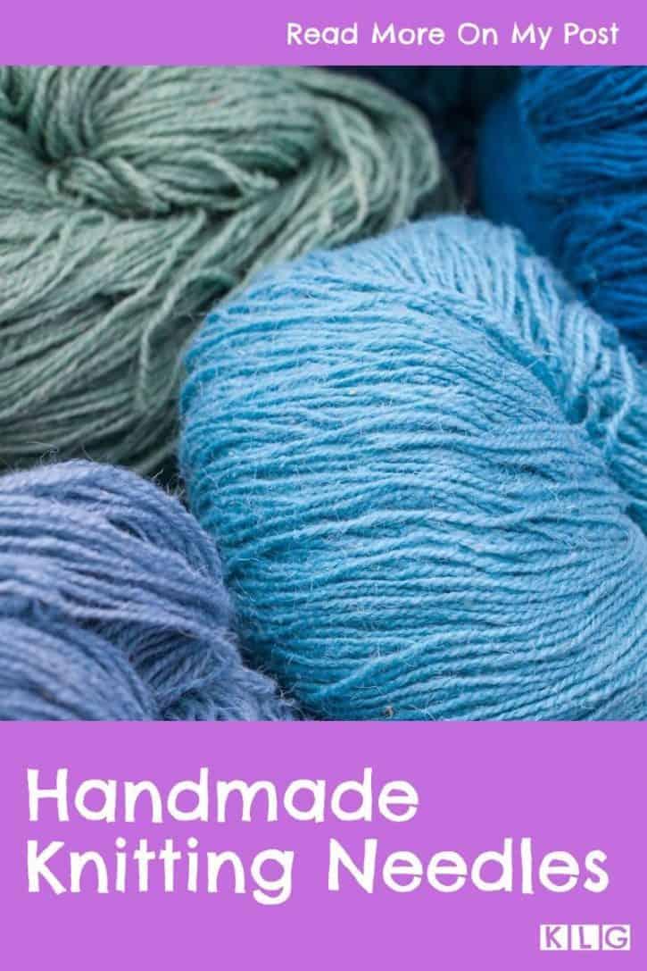 Handmade Knitting Needles Pin