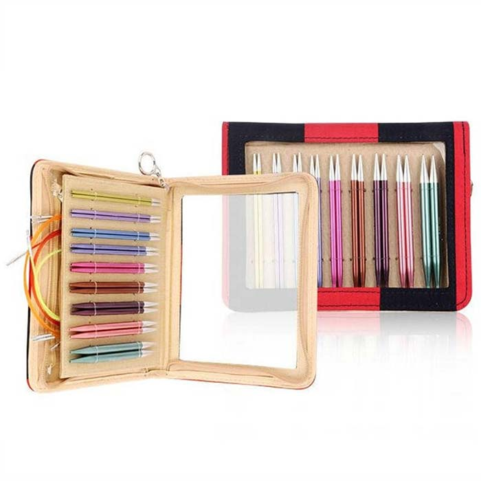 Knitter's Pride Zing Deluxe Interchangeable Knitting Set