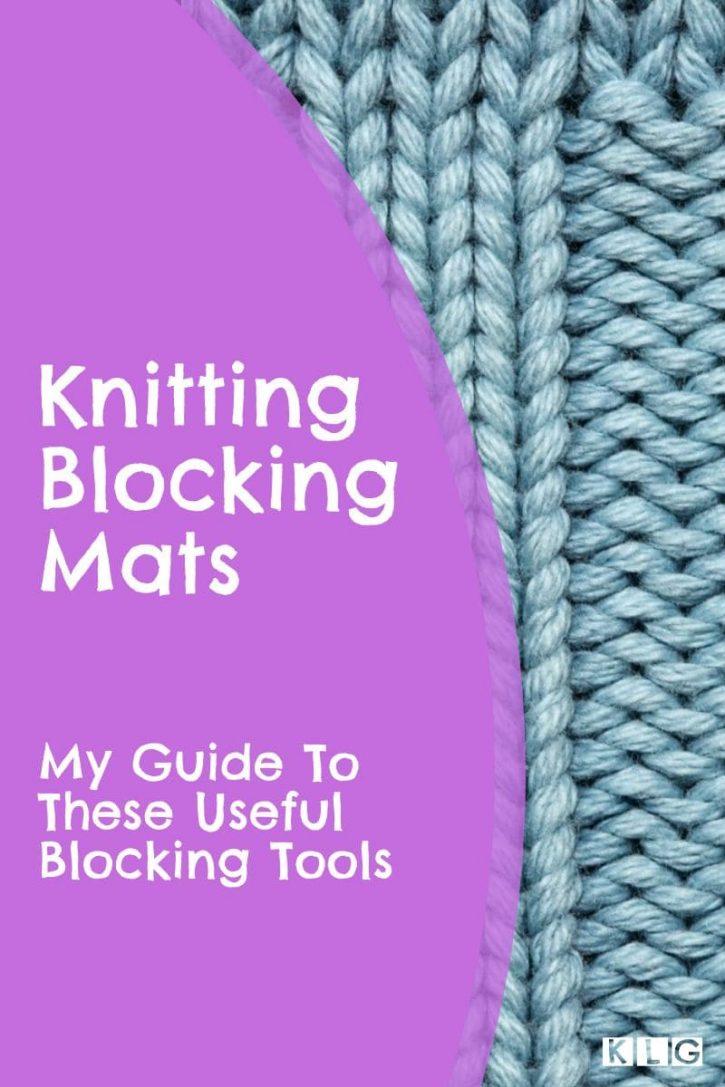 Knitting Blocking Mats Pin