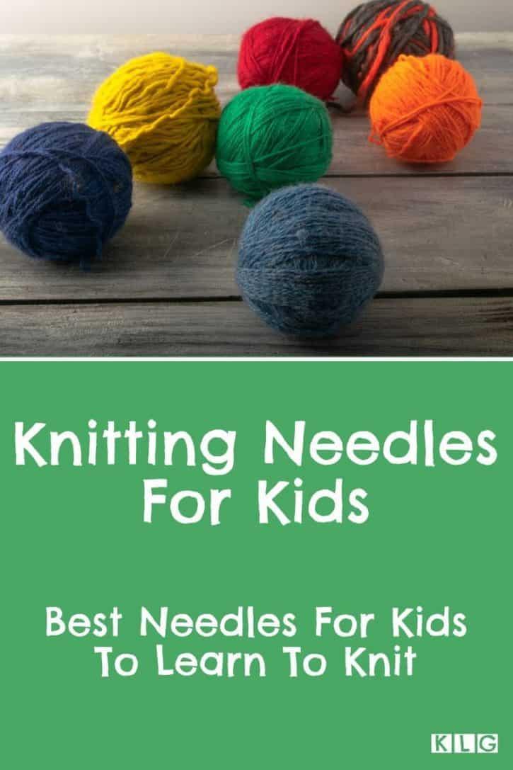 Knitting Needles For Kids Pin