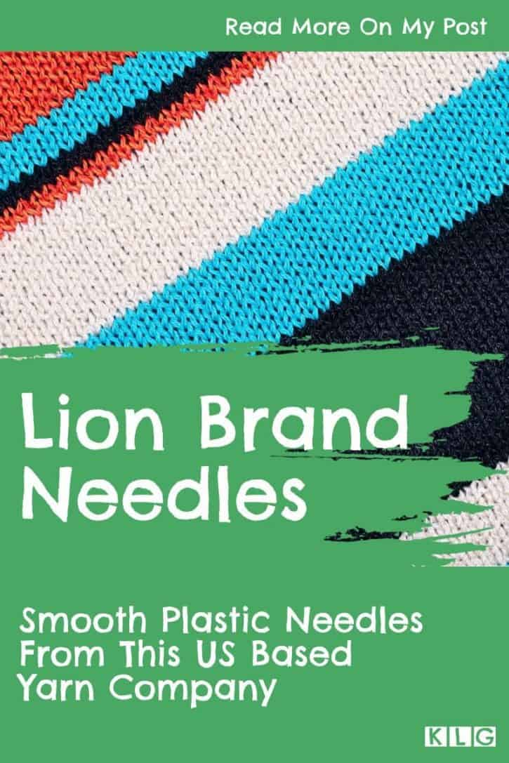 Lion Brand Needles Pin