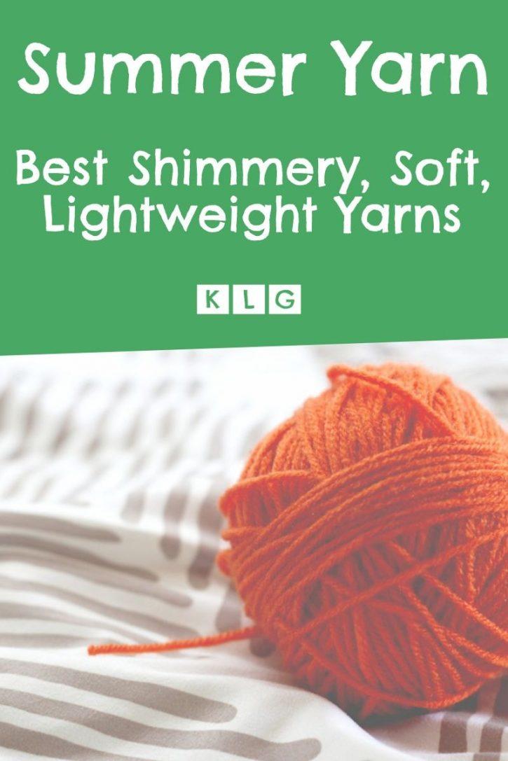 Summer Yarn Pin