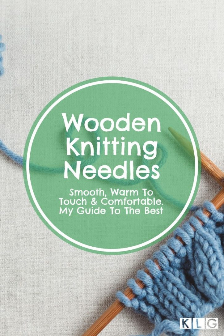 Wooden Knitting Needles Pin