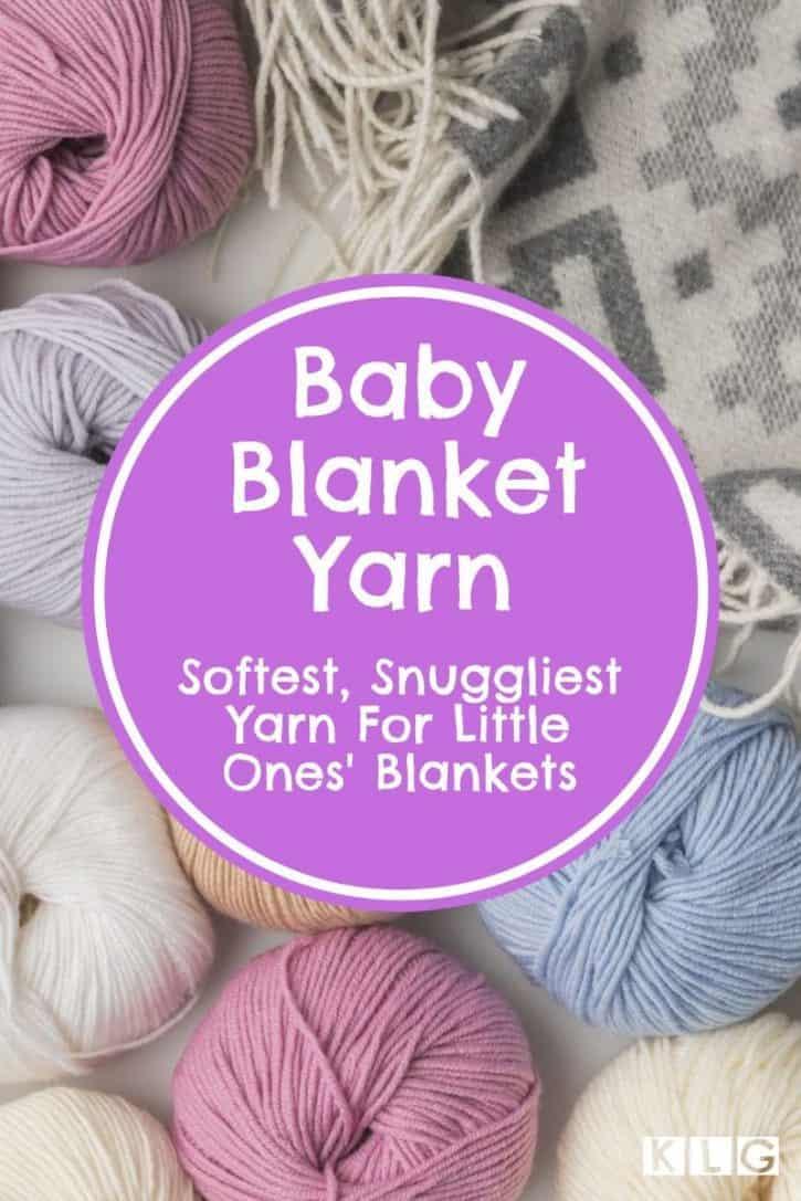 Baby Blankets Yarn Pin