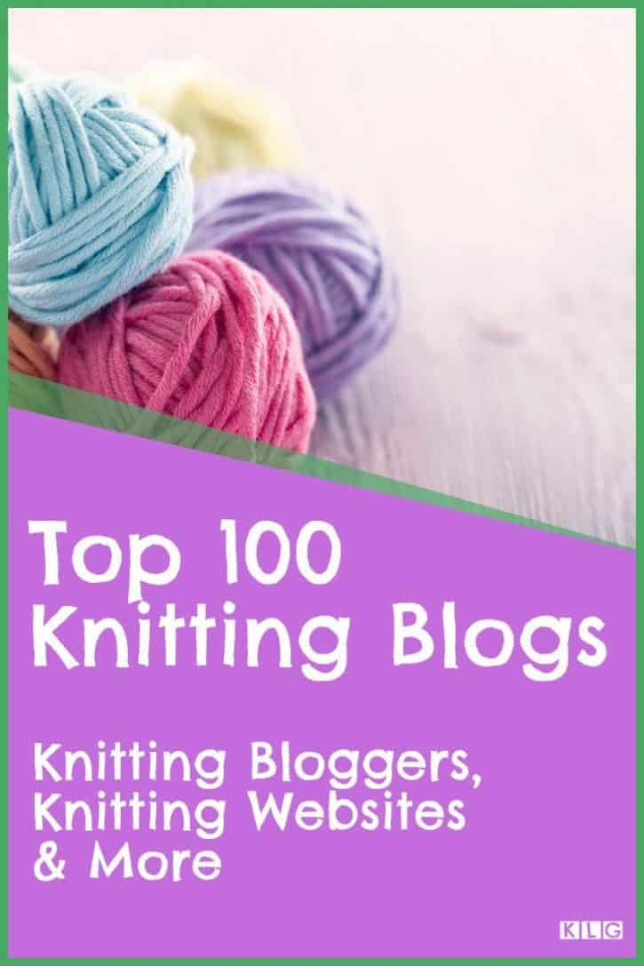 Knitting Blogs Pin