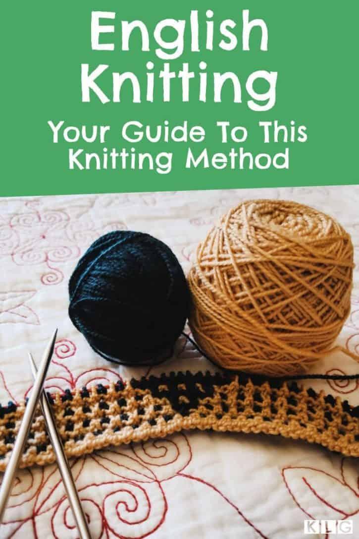English Knitting Pin