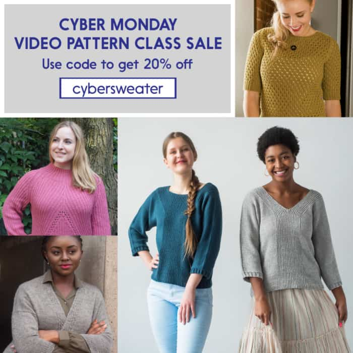 Patty Lyons Cyber Monday Sale Video Pattern Class Sale