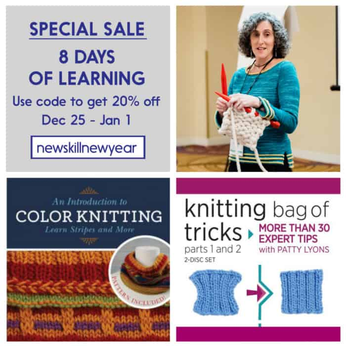 Patty Lyons 8 Days of learning sale Dec 25 - Jan 1