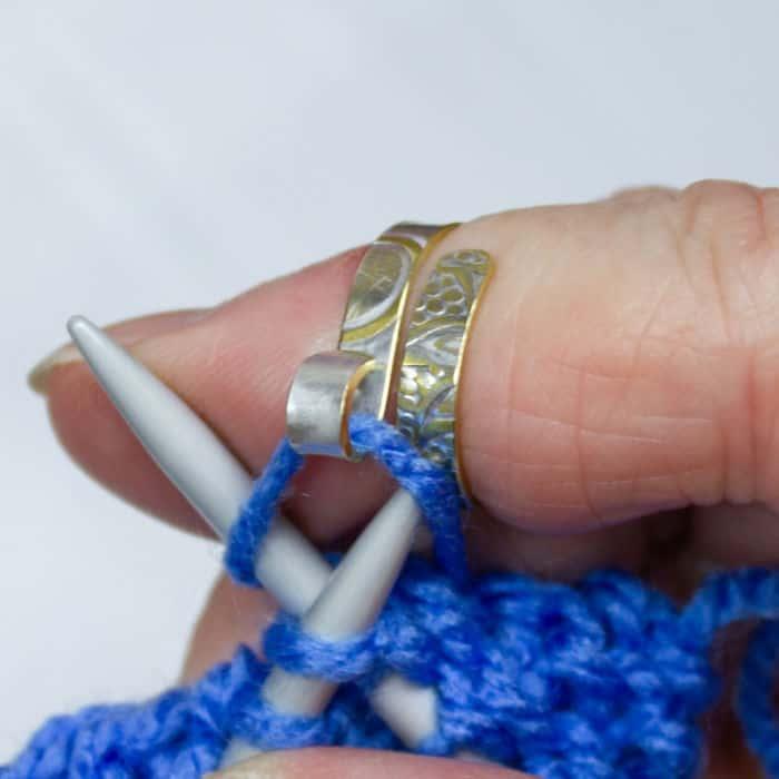 Knitting Yarn Guide Ring