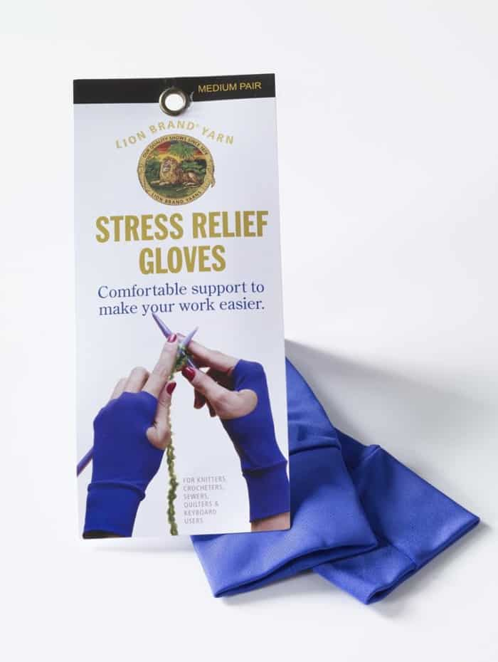 Stress Relief Gloves by Lion Brand