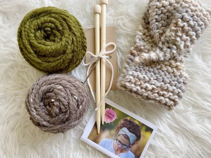 Chunky Knit Headband Kit