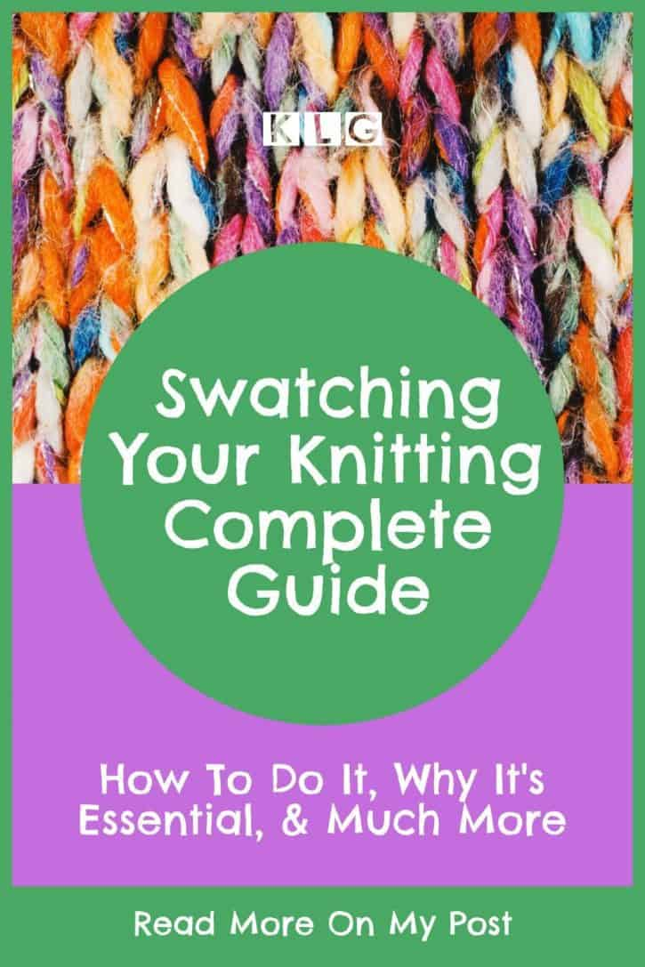 Gauge Swatch - Your Complete Guide Pin