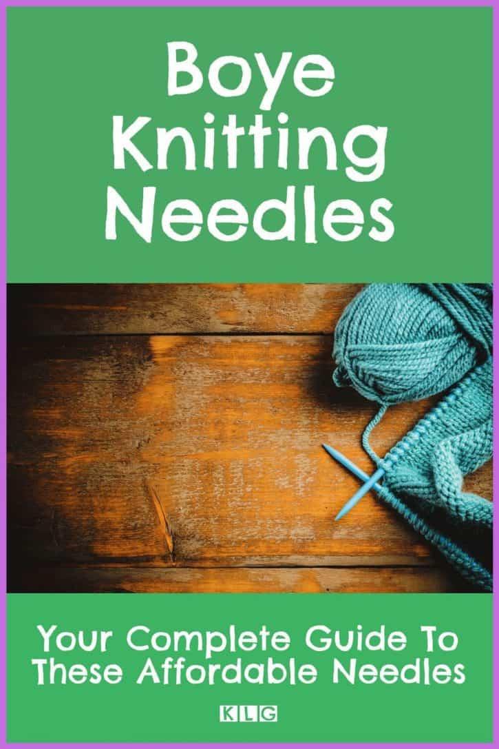 Boye Knitting Needles Pin