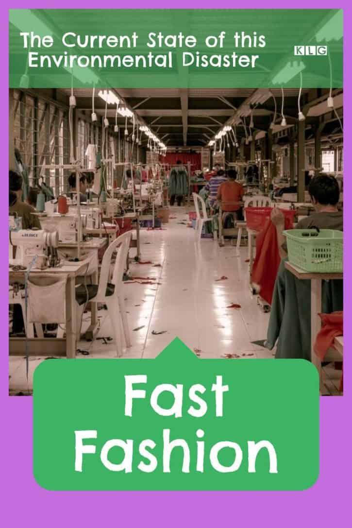 Fast Fashion Pin