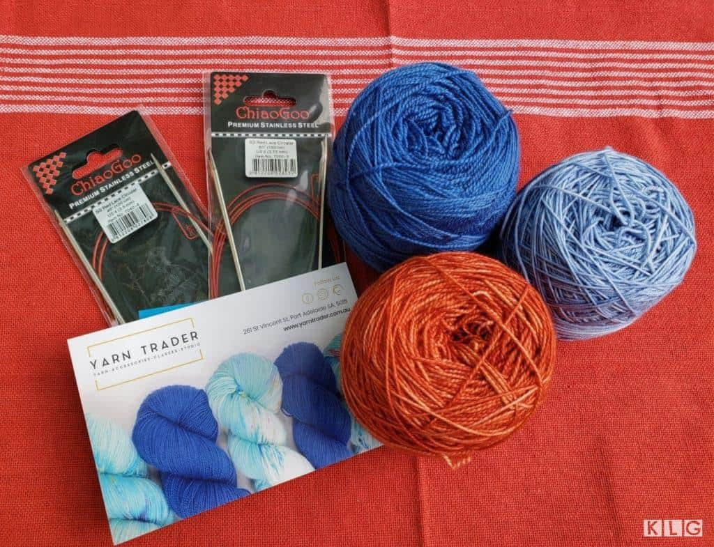 Yarn Trader Yarn and Chiaogoo Needles