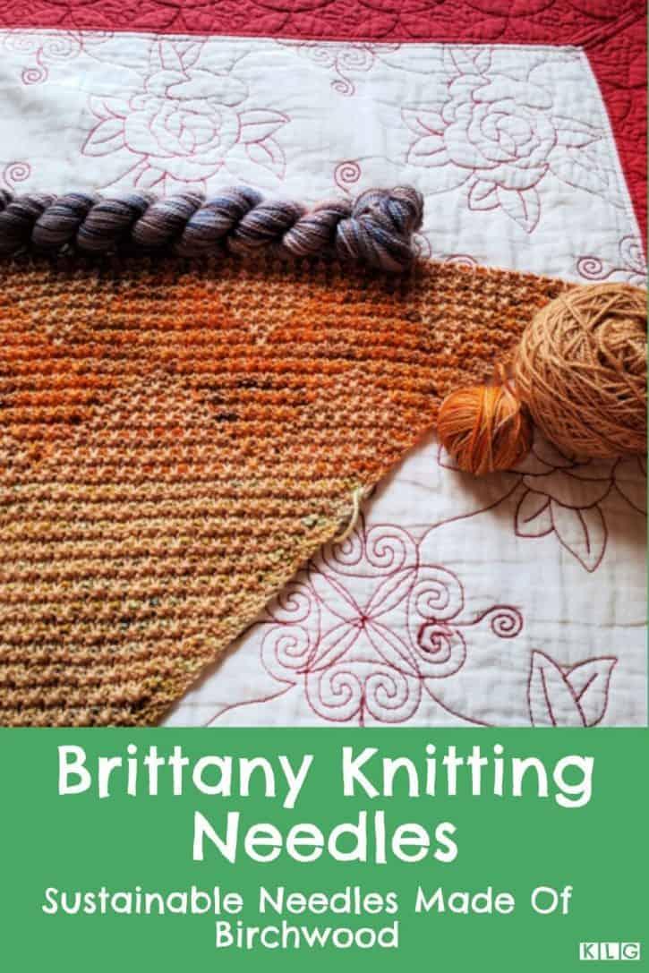 Brittany Knitting Needles Pin