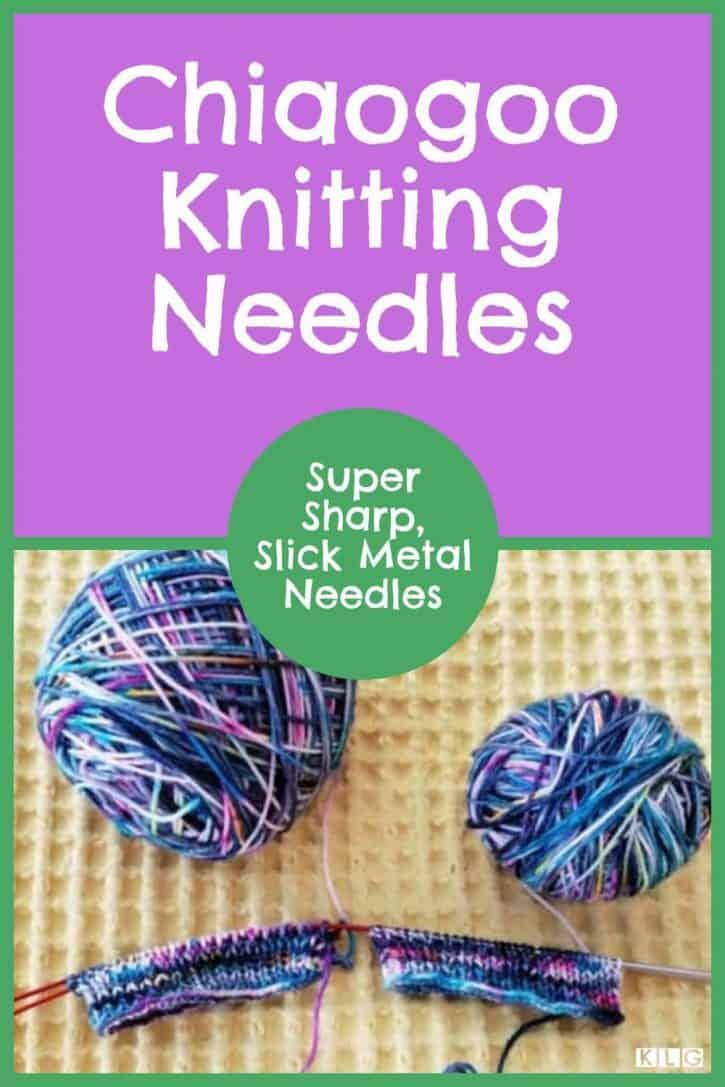 Chiaogoo Knitting Needles Pin