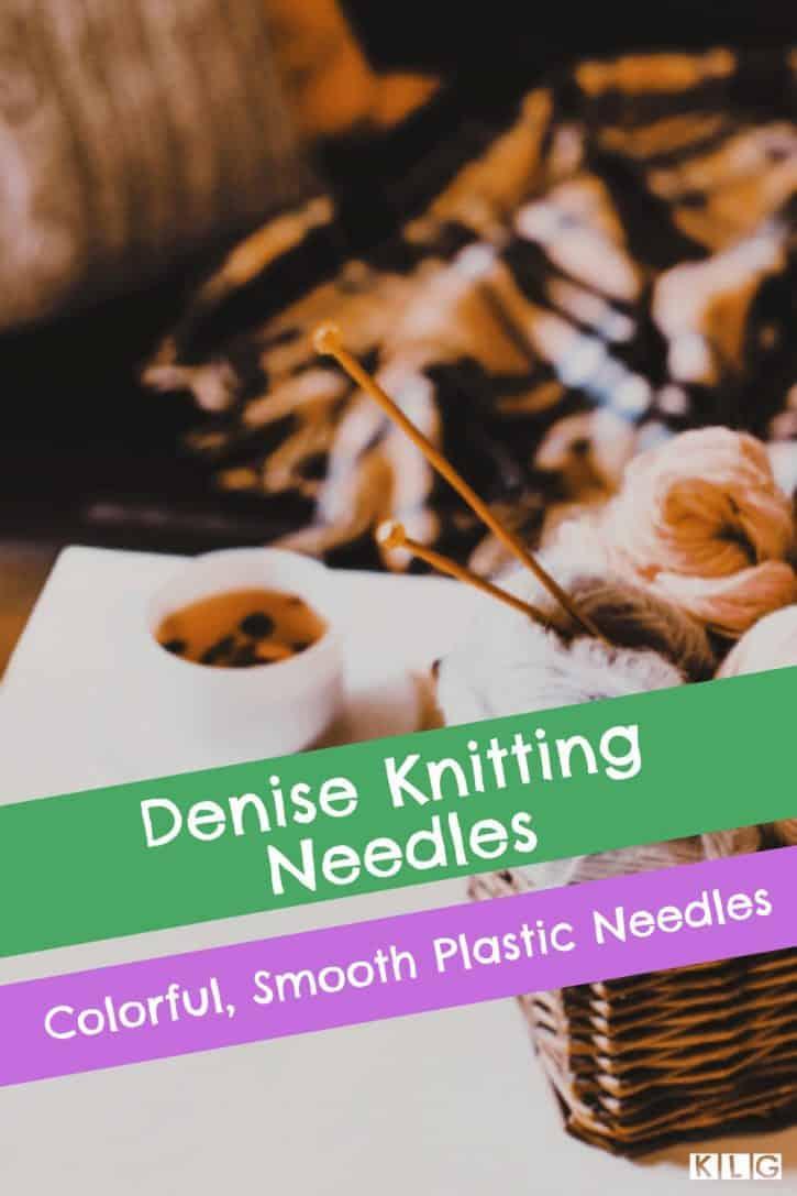 Denise Knitting Needles Pin