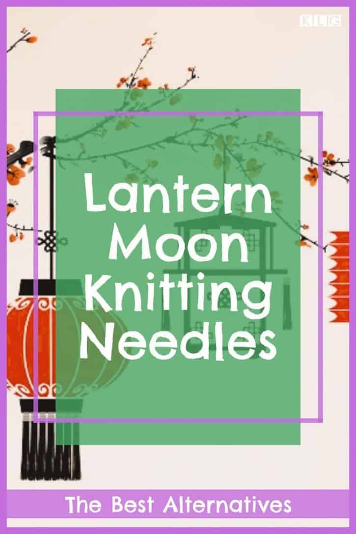 Lantern Moon Knitting Needles Pin